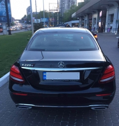 Аренда Mercedes-Benz W213 в Киеве