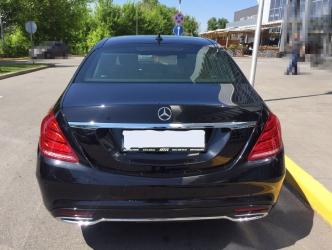 Аренда Mercedes-Benz W222 в Киеве