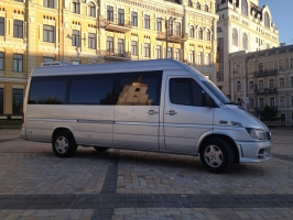 Аренда Mercedes-Benz Sprinter grey в Киеве